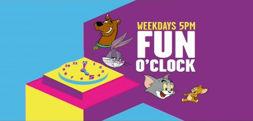 New Programming Block: Fun O'Clock On Boomerang UK