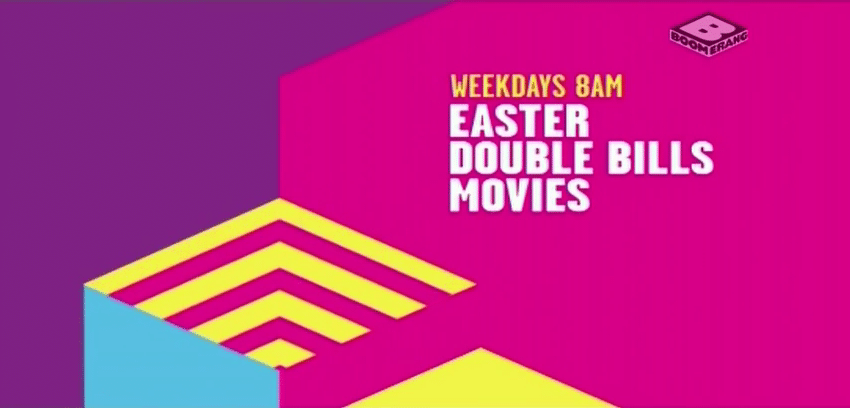 Boomerang UK Easter 2015 Double Bills & Movies