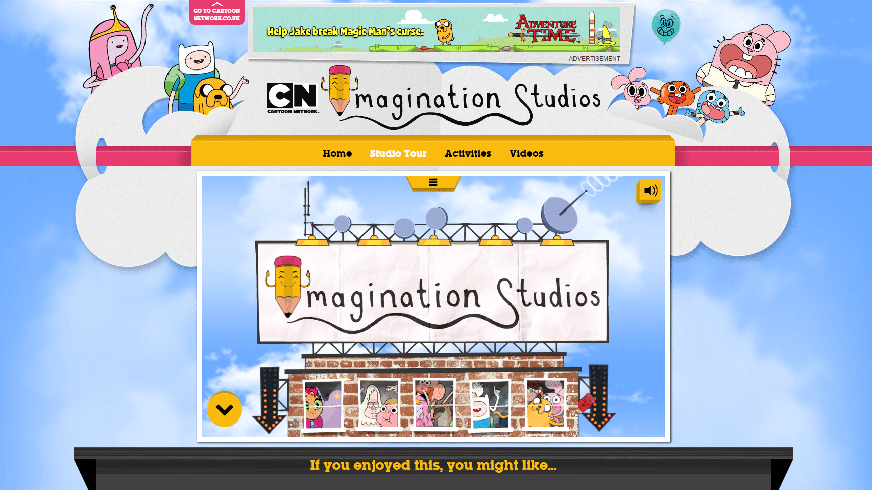 Cartoon Network Imagination Studios Microsite Now Online