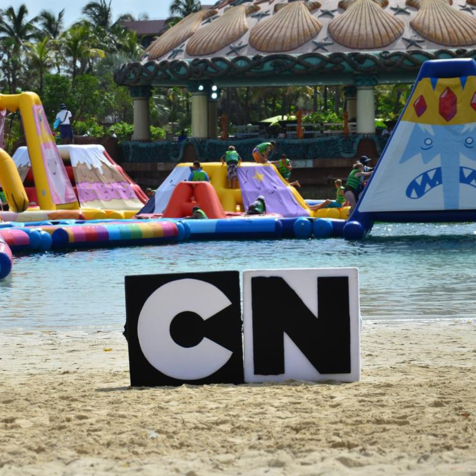 Cartoon Network Attractions At Atlantis Paradise Island