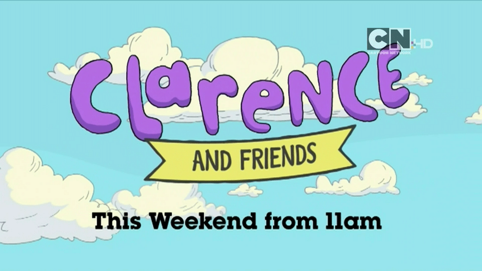 Cartoon Network UK Clarence And Friends Marathon This Weekend