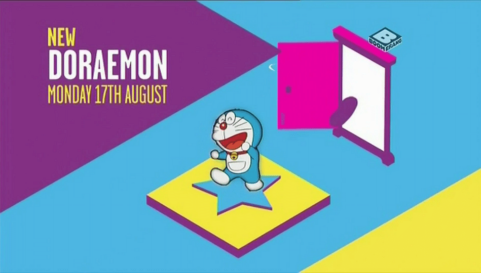 Boomerang UK Doraemon New Show Promo Now Airing
