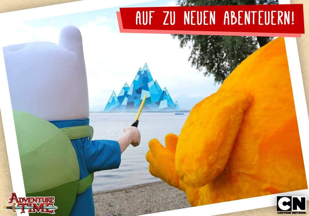 Adventure Time Germany Summer Tour