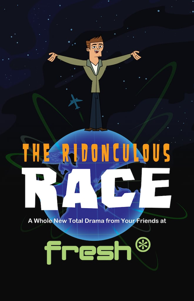 Cartoon Network USA Total Drama: The Ridonculous Race