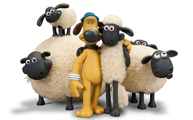 Cartoon Network USA New Show Shaun The Sheep From 8th September