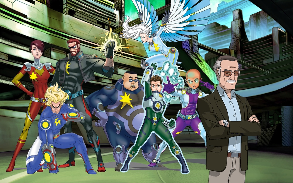 Cartoon Network Latin America Buys Movie Broadcast Rights For Stan Lee's Mighty 7