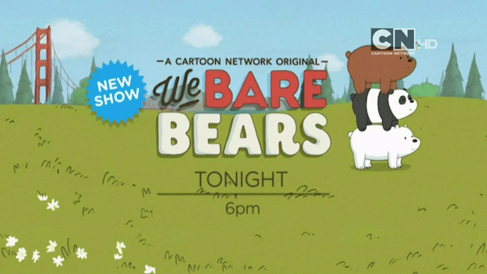 Cartoon Network UK We Bare Bears Premieres Tonight