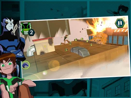 Ben 10 Omniverse: Undertown Chase Mobile Game Now Available