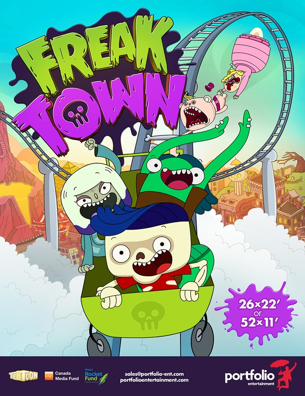 Boing France Freaktown Now Airing