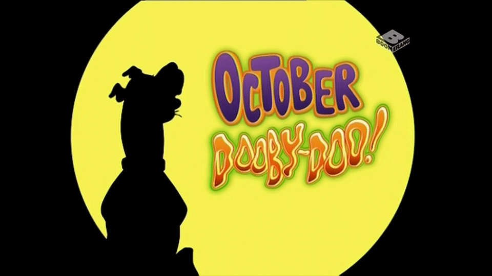 Boomerang UK October Dooby Doo Hallowe'en Half Term