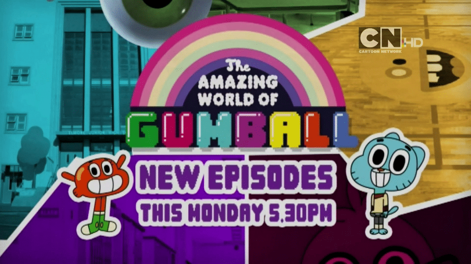 Cartoon Network UK The Amazing World Of Gumball New Episodes Throughout October