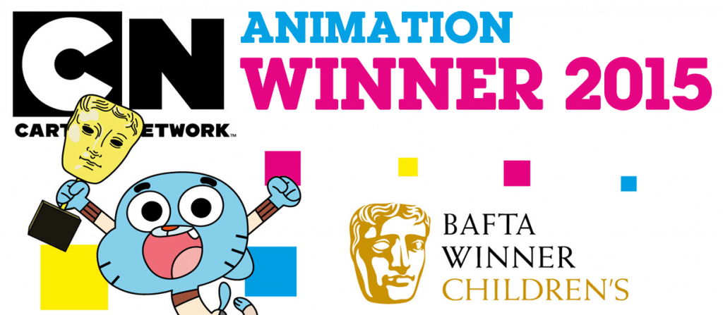 The Amazing World Of Gumball Wins BAFTA Kids 2015 Animation Award