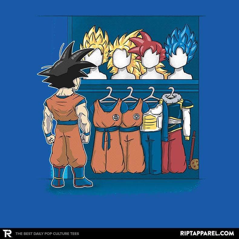 Cartoon Network USA: Dragonball Z Fan Designed T-Shirts On RIPT Apparel: Get Them Before They're Gone