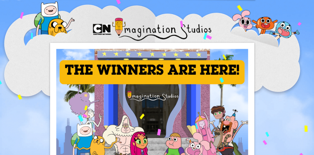 Cartoon Network UK Imagination Studios Winners
