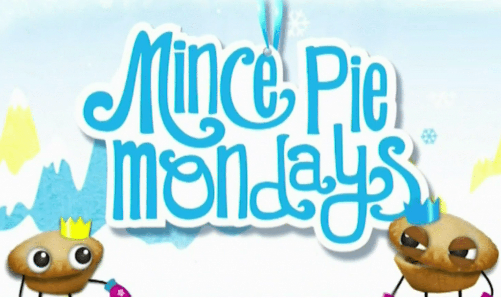 Cartoon Network UK Mince Pie Mondays Christmas 2015