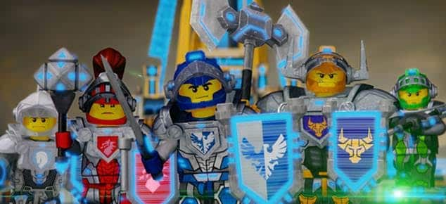Lego Nexo Knights Premieres 1st February On Cartoon Network UK