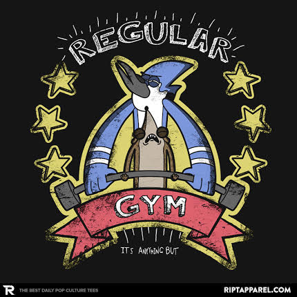Regular Show And Dragonball Z Fan Designed T-Shirts On RIPT Apparel