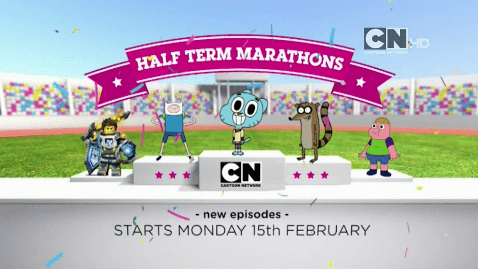 Cartoon Network UK February Half Term Marathons