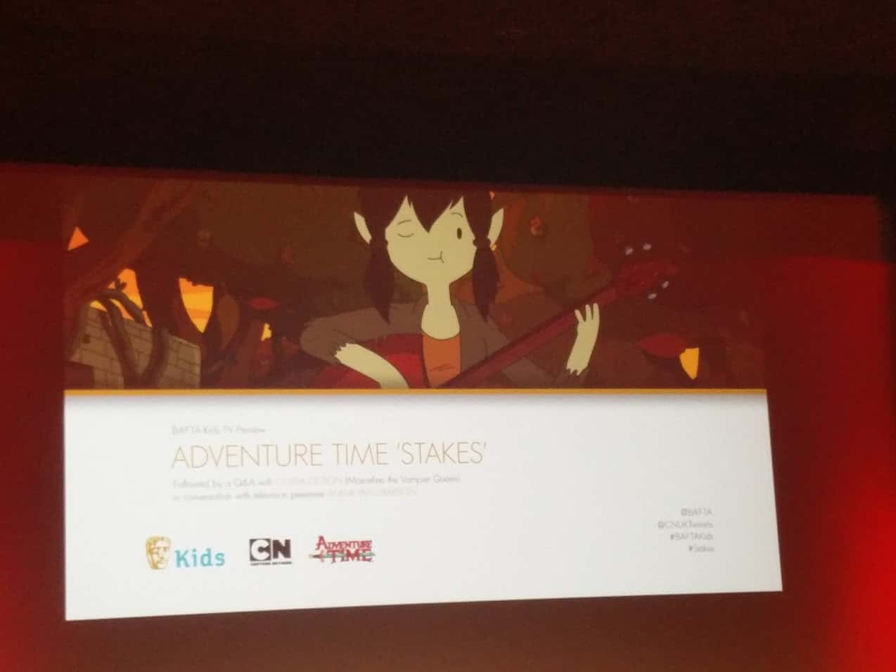 Cartoon Network UK Adventure Time Stakes Premiere