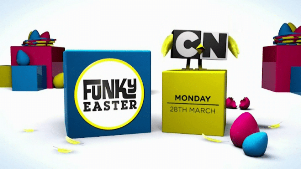 Cartoon Network UK Funky Easter 2016 Programming