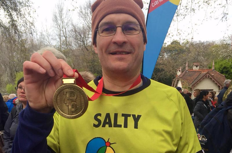 Cartoon Network Enterprises Graham Saltmarsh Runs London Marathon For Charity