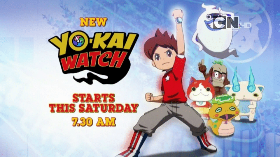 Cartoon Network UK Yo-Kai Watch Premieres 23rd April