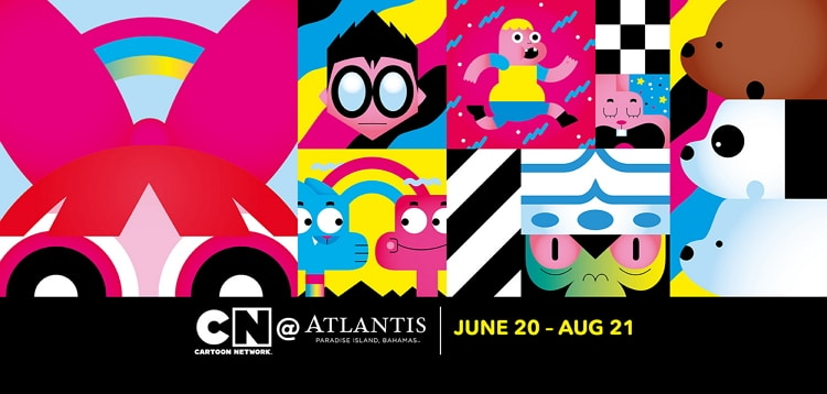 Cartoon Network Attractions At Atlantis Paradise Island Summer 2016