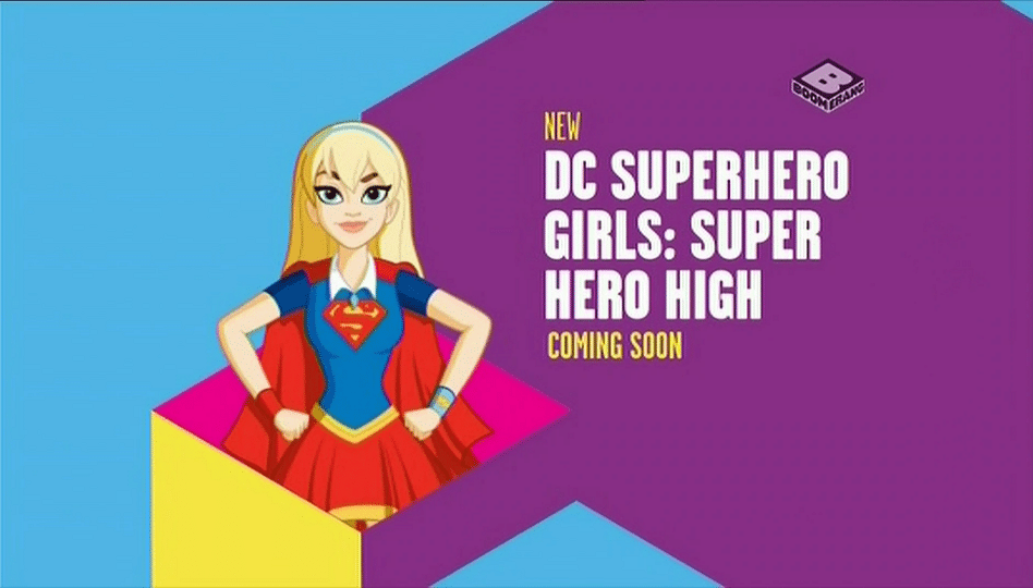 Boomerang UK DC Superhero Girls Super Girls High Preview Promos