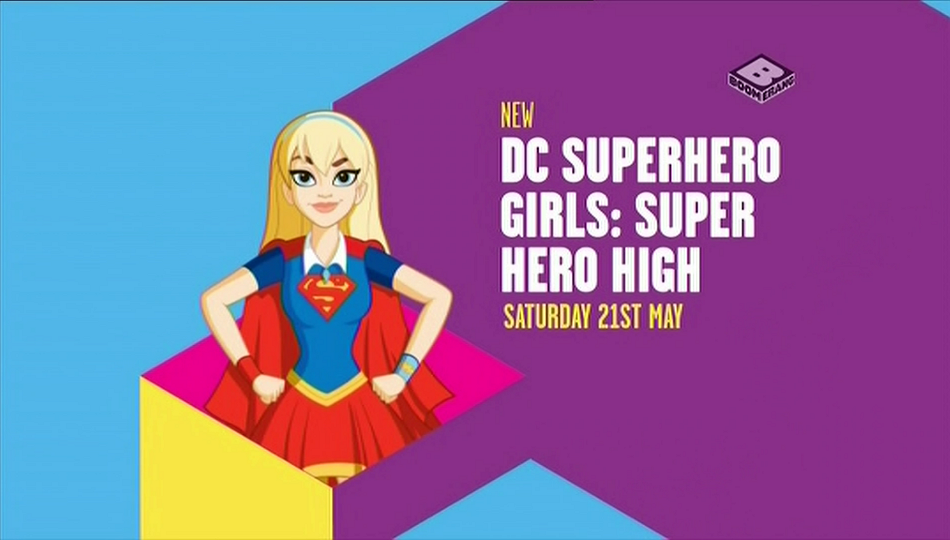 Boomerang UK DC Superhero Girls Super Hero High Premieres
