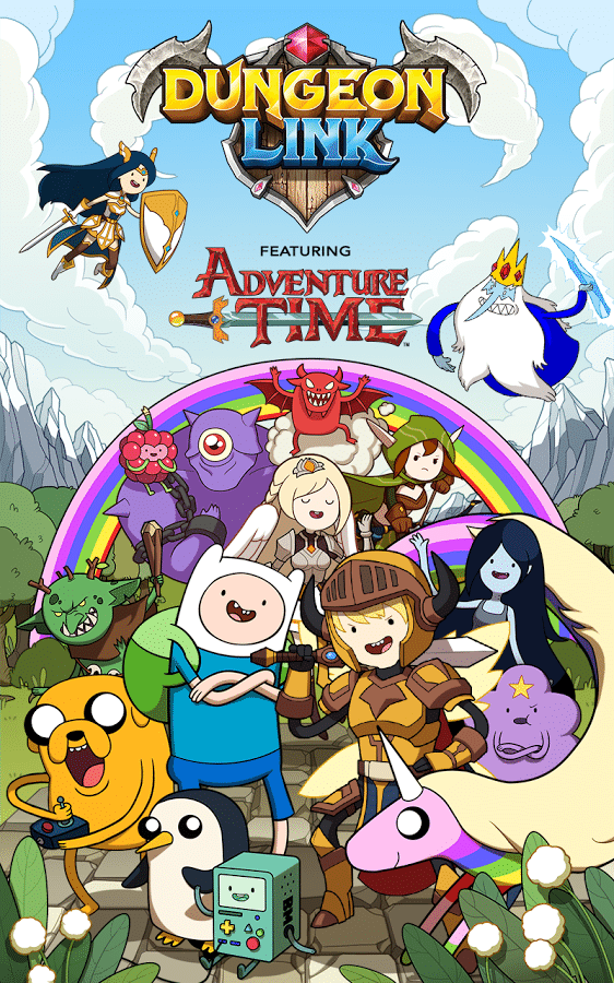 Adventure Time Characters And Scenes Now In Dungeon Link Game