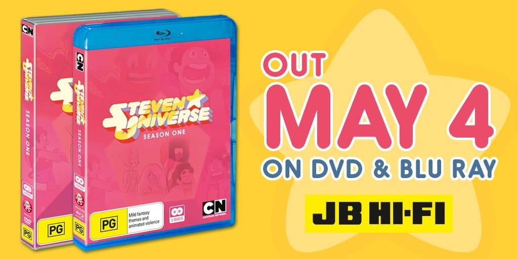 Steven Universe Season 1 DVD And Blu-ray Now Available In Australia