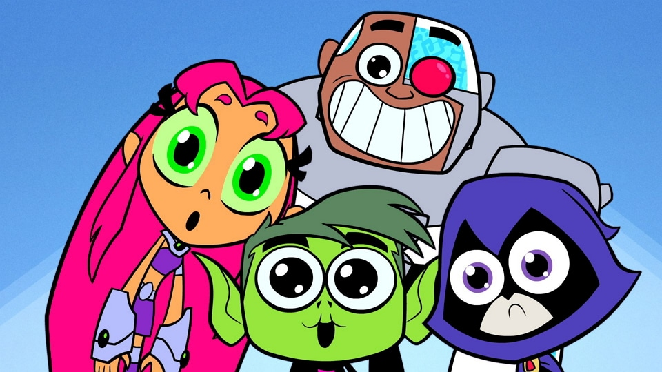 NOW TV Teen Titans Go Cartoon Network UK Competition