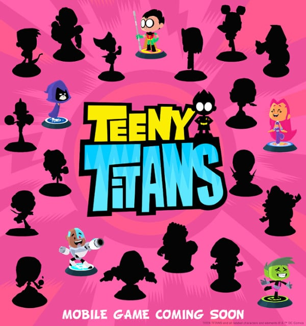 Teeny Titans Mobile Game To Be Released On 23rd June