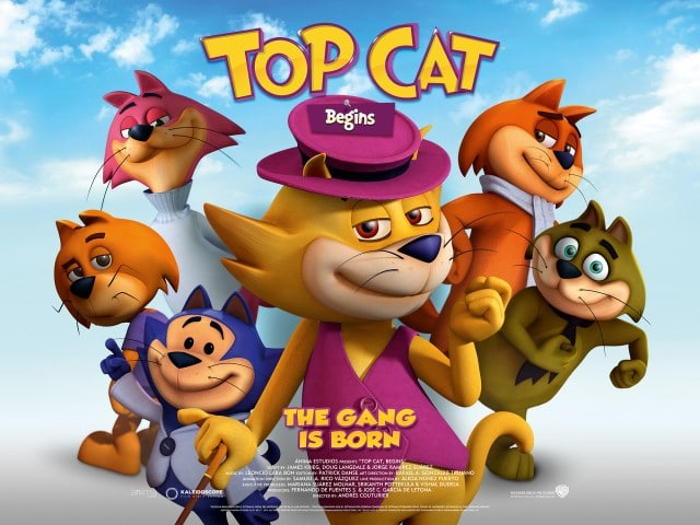 Boomerang UK Promotes Top Cat Begins Movie