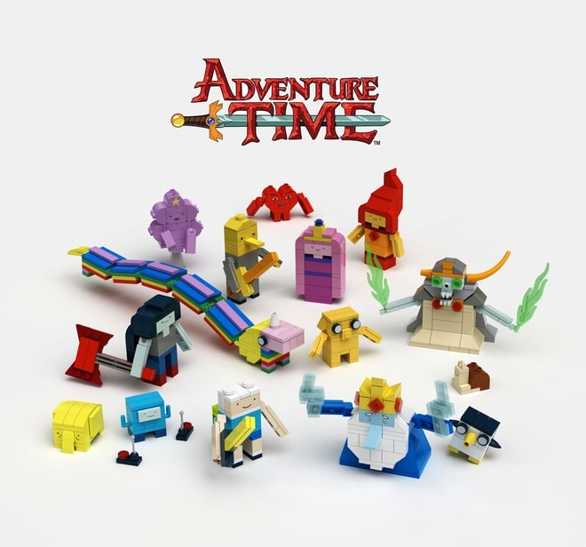 Adventure Time Lego Figure Sets To Be Released Early 2017