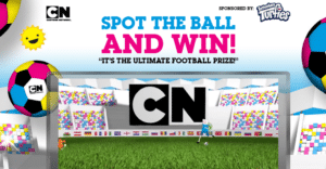 Cartoon Network UK Spot The Ball