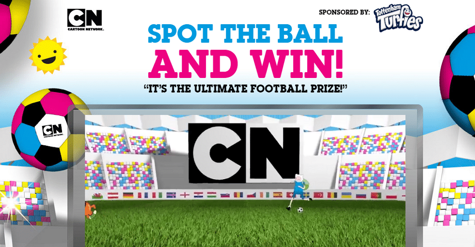 Cartoon Network UK Spot The Ball Competition