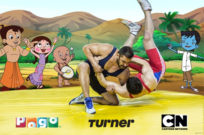 Cartoon Network India And Pogo India Partner For Sultan Movie