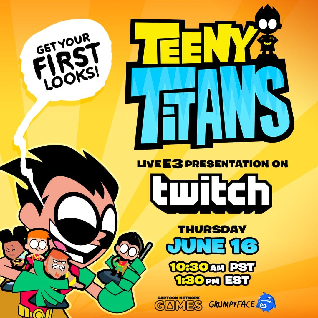 Teeny Titans Game Demo At E3 Today
