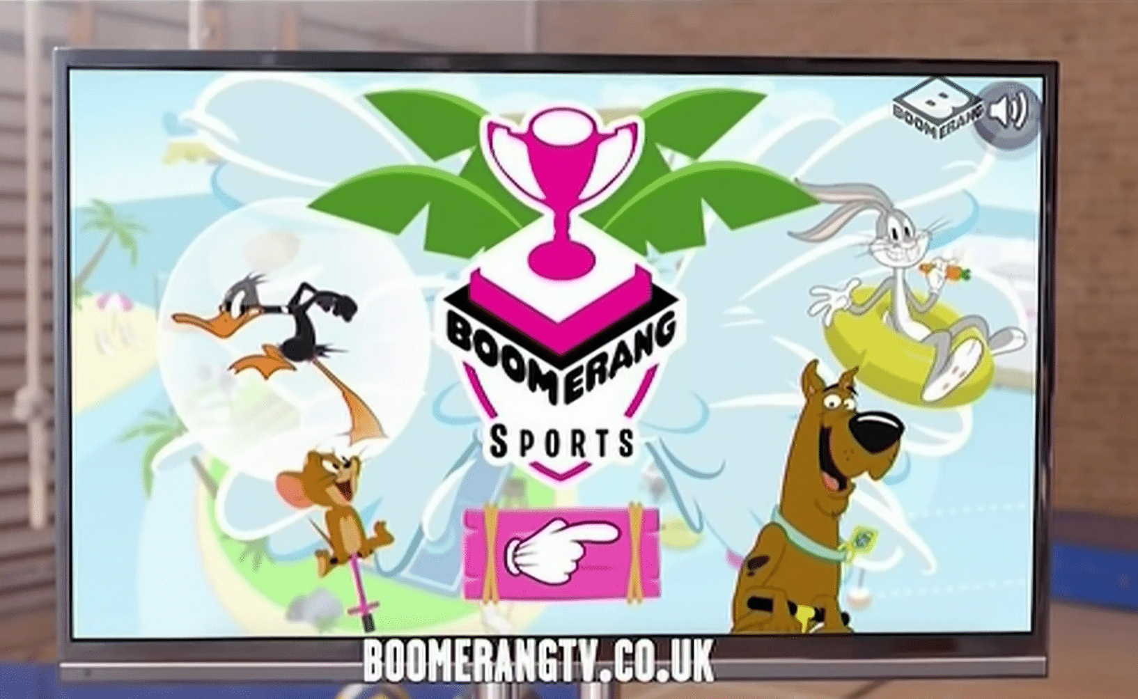 Boomerang UK Boomerang Sports Online Game