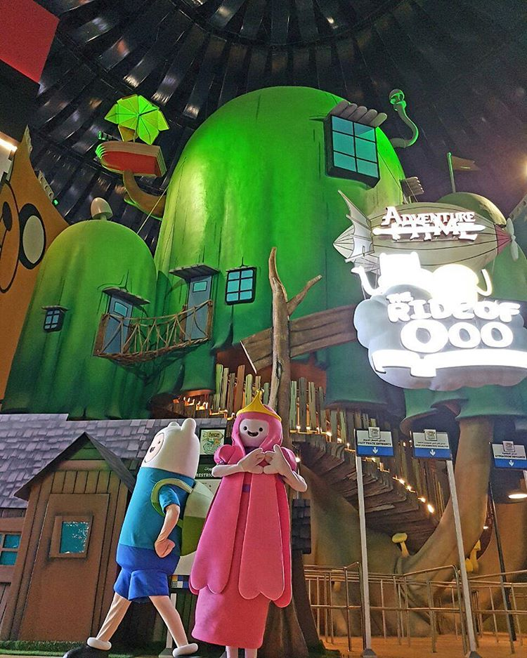 Cartoon Network Zone At IMG Worlds Of Adventure Opened Today 31st August