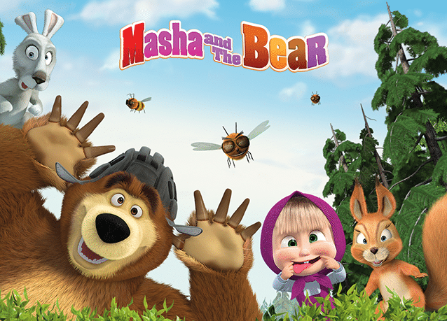 Cartoonito UK Masha And The Bear Toys R Us Sponsorship Deal
