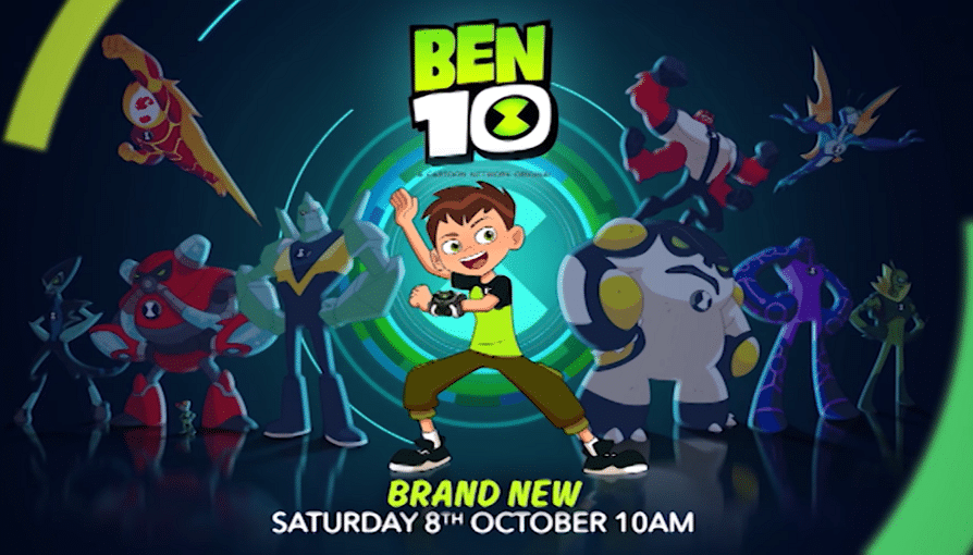 Cartoon Network UK Ben 10 New Show Promo Now Airing