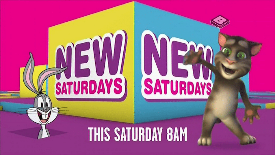Boomerang UK New Saturdays Programming Block