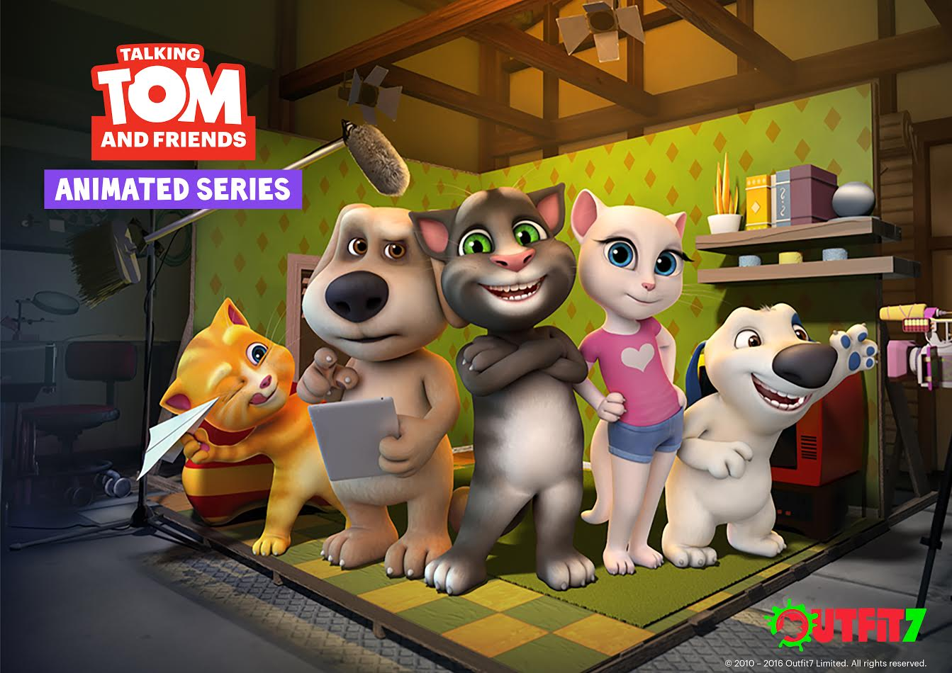 Boomerang UK Talking Tom And Friends New Show Premieres 10th September