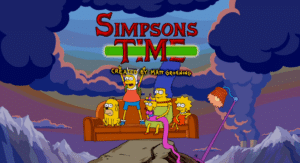 The Simpsons Adventure Time
