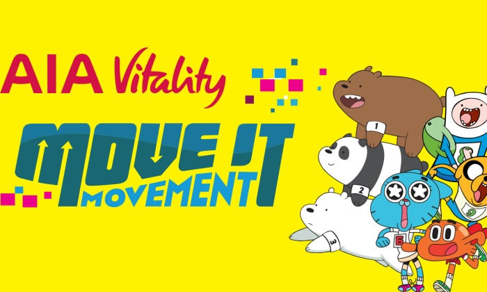 Cartoon Network Asia-Pacific And AIA Malaysia Team Up For Move It Movement Campaign