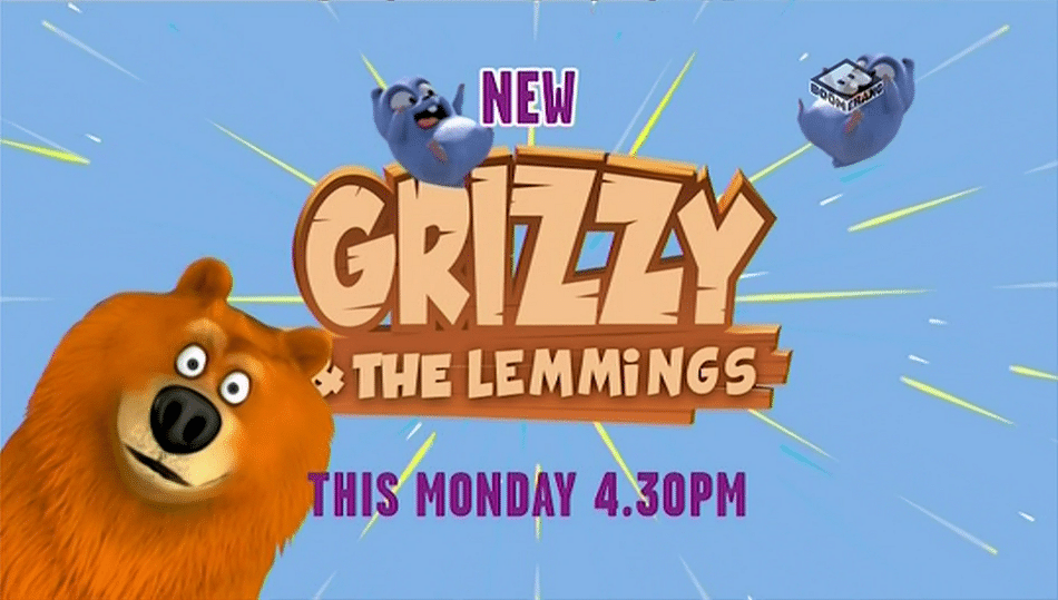 Boomerang UK Grizzy And The Lemmings Premieres Tomorrow