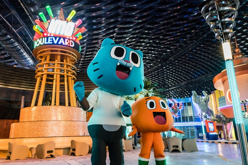 Cartoon Network Enterprises MENA 2016 IMG Worlds Of Adventure Event