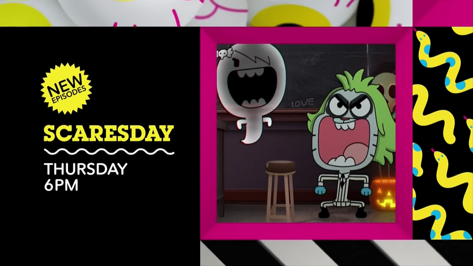 Cartoon Network USA Scaresday Thursday Night Halloween Premieres